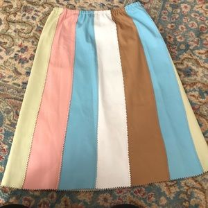 Vintage Skirts - Vintage Cynthia Rowley Leather Skirt Size 10
